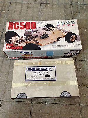 Rc 500 4wd , Team Associated Vintage Rare 1/8 (rc500 Delta Thorp Cook Eagle Pb)