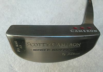 Scotty Cameron Titleist Del Mar  3.5 Inspired By Sergio García 34""