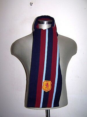 """Ralph Lauren """"RUGBY"""" wool  College scarf Made in England"""