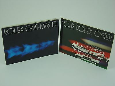Genuine Rolex vintage GMT-Master booklet set 1981 USA version 16750 16753 16758