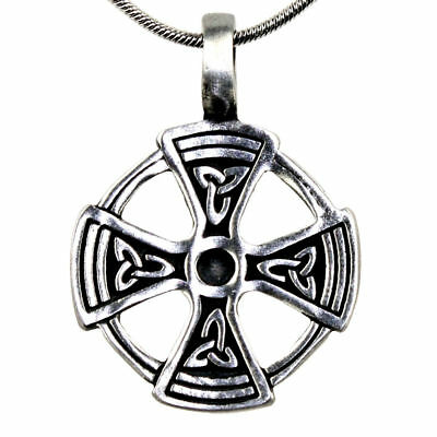 "Celtic ""TRIQUETRA-CROSS"" in sun circle"