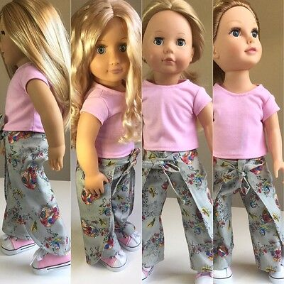 "Fit American Girl Our Generation Journey Gotz 18"" Doll Clothes. Outfit Inc Shoes"