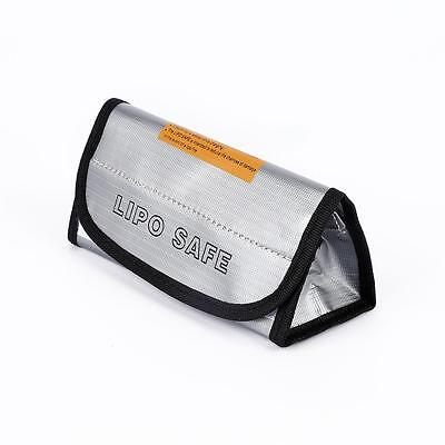 Portable RC LiPo Battery Bag Fireproof Safe Guards Charging Sack 185x75x60mm KY