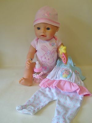 Baby Born Interactive Doll With Outfits By Zapf Creation