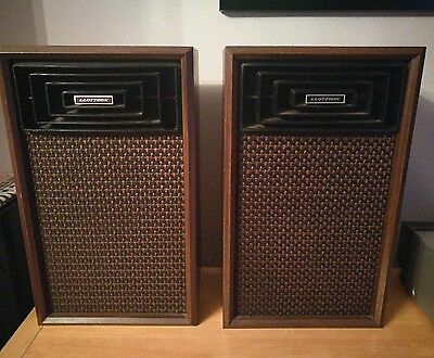 LLOYTRON vintage large hifi retro SPEAKERS