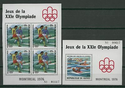 Olympiade 1976, Olympic Games - Guinea - ** MNH