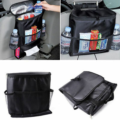 Car Auto Seat Back Protector Cover For Children Kick Mat Mud Clean Black FS