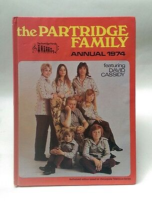 Partridge Family 1974 Annual, unclipped - David Cassidy