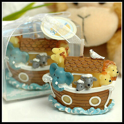 Cute Noah's Ark Candle - Cake Topper - NEW
