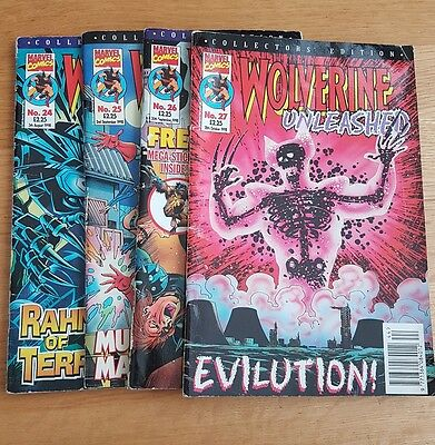 Wolverine Unleased 24 - 27 (Collectors Edition Marvel comics 1998)