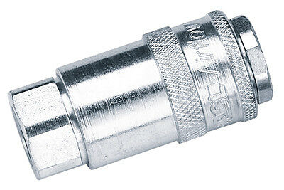 "DRAPER 1/4"" Female Thread PCL Parallel Airflow Coupling (Sold Loose) 