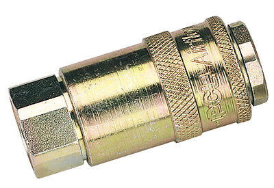"DRAPER 3/8"" Female Thread PCL Parallel Airflow Coupling (Sold Loose) 