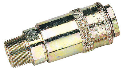 "Genuine DRAPER 3/8"" Male Thread PCL Tapered Airflow Coupling (Sold Loose) 