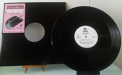 Madonna Music Promo Vinyl 12 Inches Stickered. Like New !