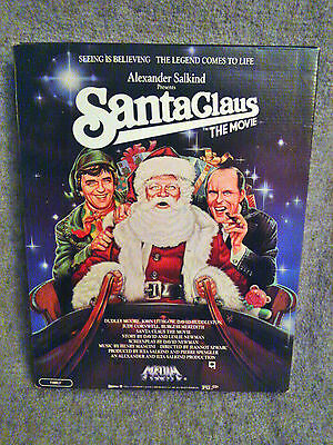 Santa Claus: The Movie in Store Display