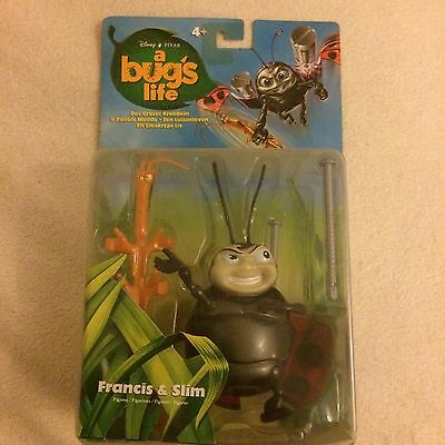 Disney Pixar A Bugs Life Francis & Slim Collectable Figure 19339 New