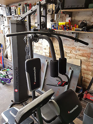 Maximuscle Home Gym, With Weights and Bench