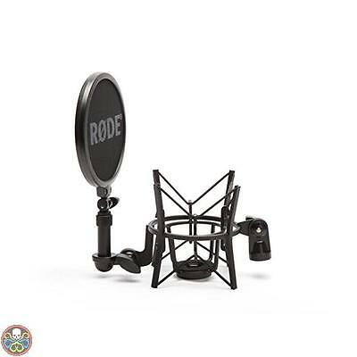 Rode Microphones Røde Sm6 Microphone Shock Mount With Integrated Pop Nuovo