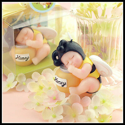 Cute Little Bumble Bee Baby Candle - Cake Topper - NEW