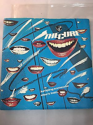 """The CURE  Jumping someone else's train Original 1979  7"""" Vinyl in unplayed cond."""