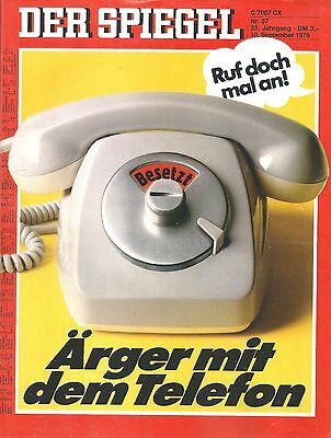The Mirror no. 37 - 10.9.1979 ärger with the Telephone
