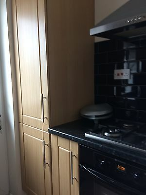 Complete kitchen with oven and hobunits
