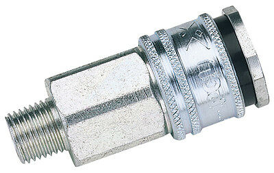 "Genuine DRAPER Euro Coupling Male Thread 1/2"" BSP Parallel (Sold Loose) 