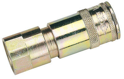 "DRAPER 1/2"" BSP Taper Female Thread Vertex Air Coupling (Sold Loose) 