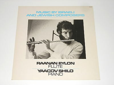 Raanan Eylon - Flute - LP - Music By Israeli And Jewish Composers - F 669.295