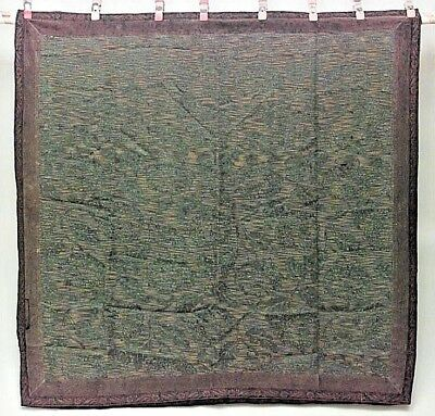 American Victorian Green Silk Table Cover