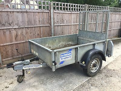Ifor Williams 6X4 Plant Trailer