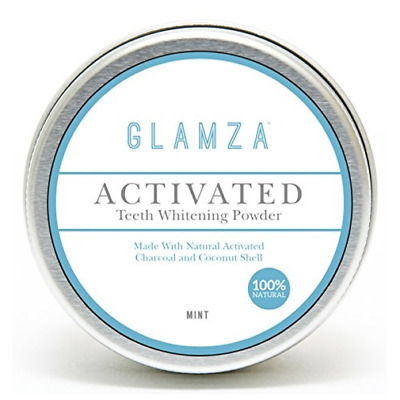 WHITE FIRST - Glamza Poudre de Blanchiment dentaire au charbon actif