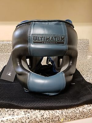 Winning Style - Ultimatum Facebar Boxing Headgear Xl