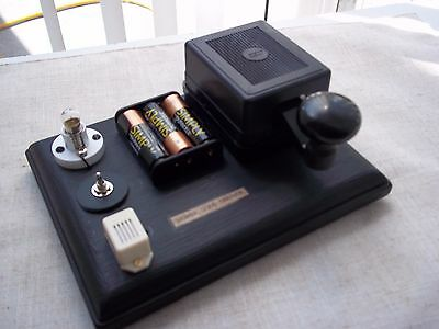 Morse Code/ Telegraph Key   with.sound/light  Practice option...