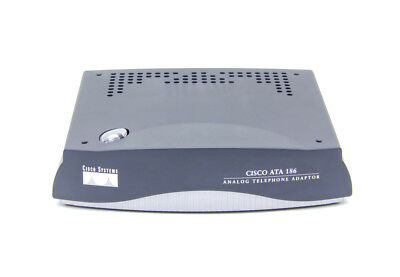 CISCO ATA 186 Analog Telephone Adaptor * 12 Month Warranty * Inc VAT & Delivery