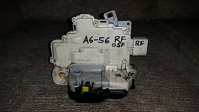AUDI A6 C6 FRONT RIGHT DOOR LOCK MECHANISM DRIVER SIDE OSF 4F2837016B  2004 > On