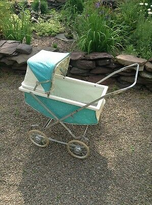 Vintage Antique Portable Baby Stroller Carriage Buggy Collapsible