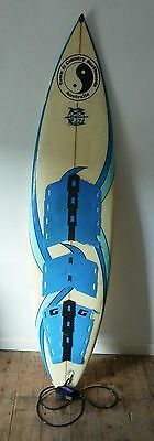 SUPERB TOWN AND COUNTRY AUSTRALIAN 7ft SURFBOARD & RHINO BAG - SURFER - XCON