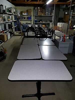 LOT OF ARBY'S RESTAURANT EQUIPMENT – Chair, Tables, Booths, Soda Fountains Etc…