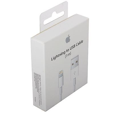 New OEM Original Apple iPhone 5, 5S, 5C, 6, 6+ Lightning USB Data Cable Charger