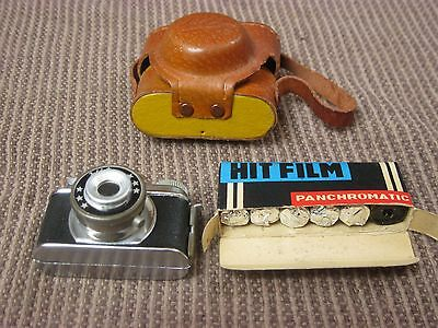 HIT Miniature Camera with Case and 5 rolls of HIT Panchromatic film