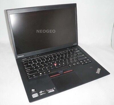 Lenovo Thinkpad X1 Carbon Laptop-Core i7 3667U 2GHz-8GB-180GB Intel SSD-1600x900