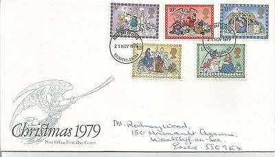 Post  Office  first Day Cover  1979  Christmas