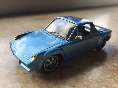 Selten! Highspeed 1971 VW Porsche 916 Coupe 1/43 Blaumetallic Mint