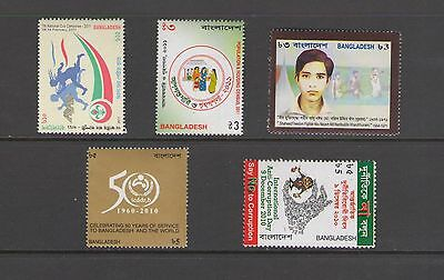 BANGLADESH: LOT BD17  /***Good Lot of Modern Issues***/  All  MNH