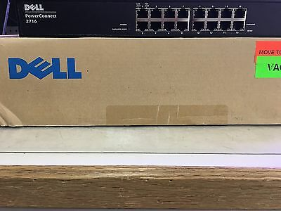 New Dell PowerConnect 2716 16 Ports Switch