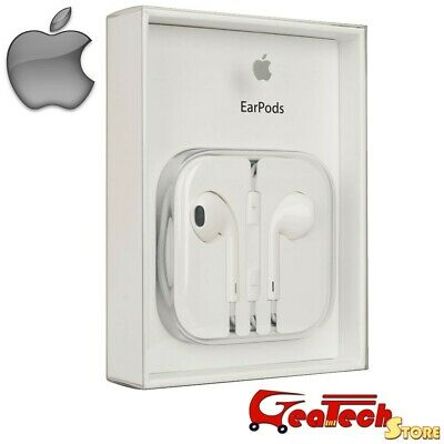 Cuffie EarPods Originali Apple MD827ZMA Auricolari Per iPhone 5S SE 6 6s Blister