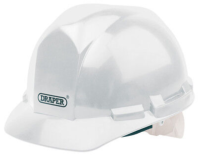 Genuine DRAPER White Safety Helmet to EN397 | 51139