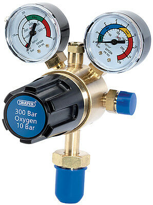 Genuine DRAPER 300 Bar Oxygen Regulator | 35010