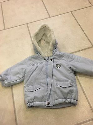 Absorba Boys Baby Blue Jacket Age 9 Months